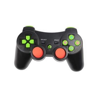Image 4 - P3 Joystick For PS3 Controller Gamepad Wireless Double Shock Bluetooth Joy Pad Joypad Gaming Controller