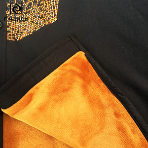 Image 4 - F. n. שקע 2019 הגעה חדשה Mens חולצה ארוך שרוול גולגולת דפוס עבה גבר חולצות מקרית חורף זכר חולצות