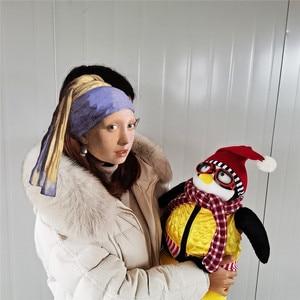 Image 2 - 55cm Ernsthafte Freunde Joey der Freund Hugsy Plüsch Spielzeug PINGUIN Rachel Gefüllte Puppe Spielzeug für Kinder Kinder Geburtstag Weihnachten geschenk