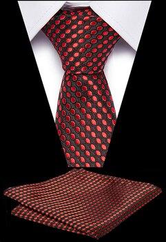 цена на Luxury Men Classic Tie Navy Blue Striped 7.5cm Tie Jacquard Party 100% Silk Jacquard Woven Necktie For Men Formal Dress Wedding