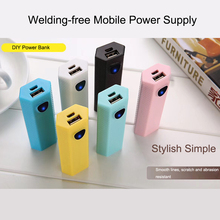 Universal USB 18650 Power Bank Case Kit DIY 1x18650 Battery Charger Box DIY For Xiaomi Mobile Phone universal usb power bank case kit diy 1x 18650 battery charger box diy for samsung xiaomi mobile phone whole sale