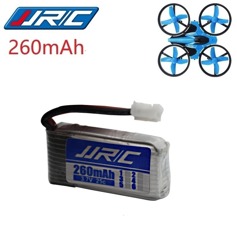 Upgrade 3.7v 260mAh For JJRC H2 H8 H8mini H20 H36 H48 Original Lipo BATTERY For E010 E010C E011 E012 E013 F36 U839 S8 M67