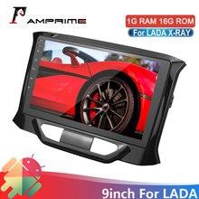 AMPrime אנדרואיד רכב רדיו 2din 2.5DScreen לאדה X ray Xray 2015 2016 2017 2019 מולטימדיה וידאו נגן ניווט GPS WIFi FM