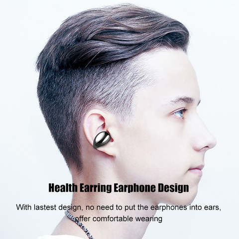 Bone Conduction Wireless Headphones Bluetooth 5.0 Earphone with 2200mAh Charging Case Wireless Sports Music Earbuds Headsets Lahore