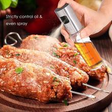 ABS распылитель оливкового масла, кухонный распылитель для масла, бутылка с насосом, Пластиковый масляный горшок, герметичный диспенсер для масла, принадлежности для приготовления барбекю