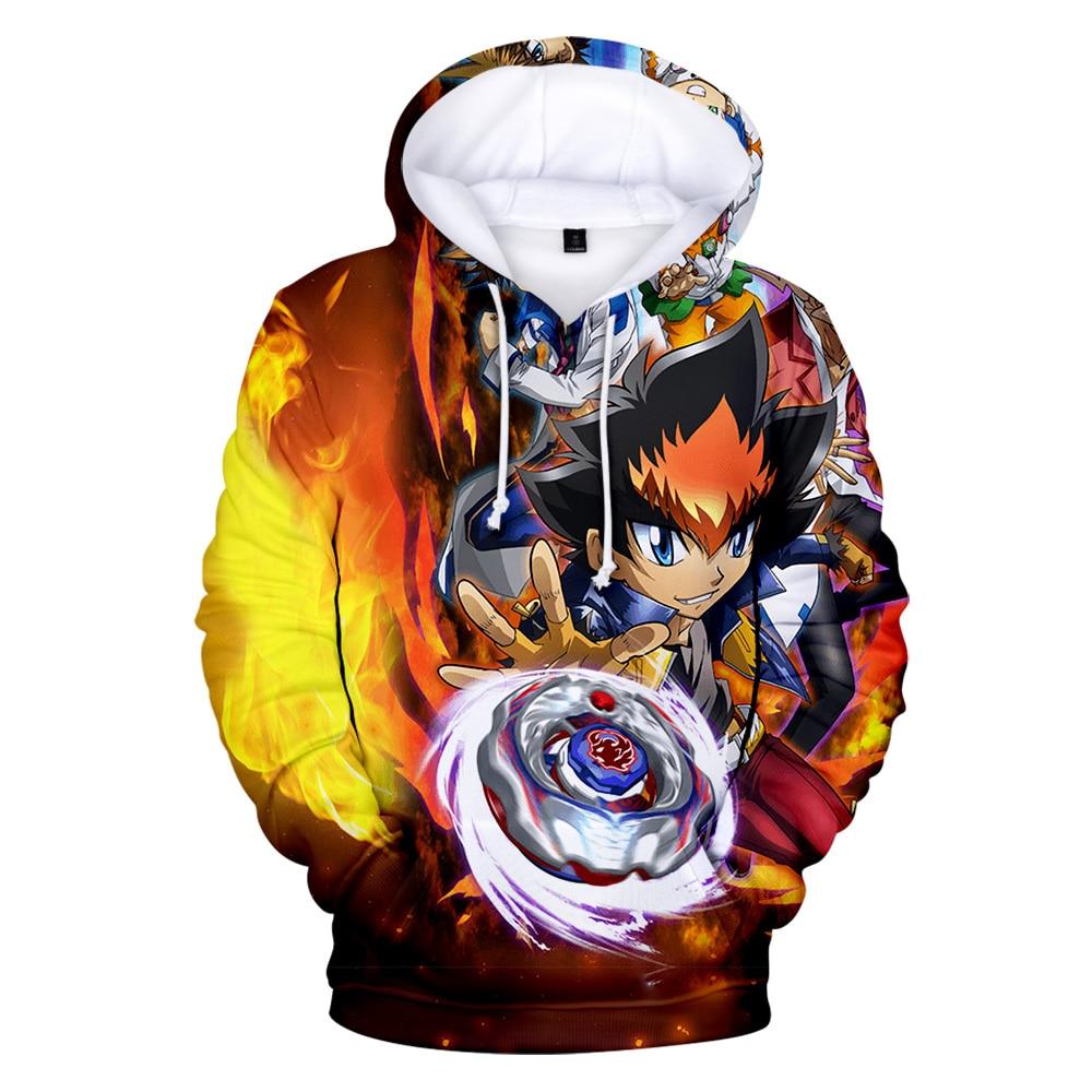 Childrens Hoodies Beybl-ade Bu-RST Evo-lution 3D Print Unisex Pullover Hooded Sweatshirts for Boys//Girls//Teen//Kids