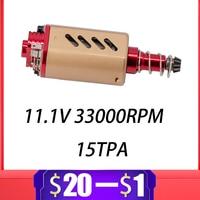 CNC 480 High Speed/High Torque Motor for Airsoft Gel Blaster M4 HK416 SLR TTM JinMing JiQu Kublai BD556 Paintball Accessories