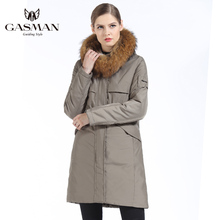 Thick Long Puffer Fur Collar Hooded Parka Jacket NA01