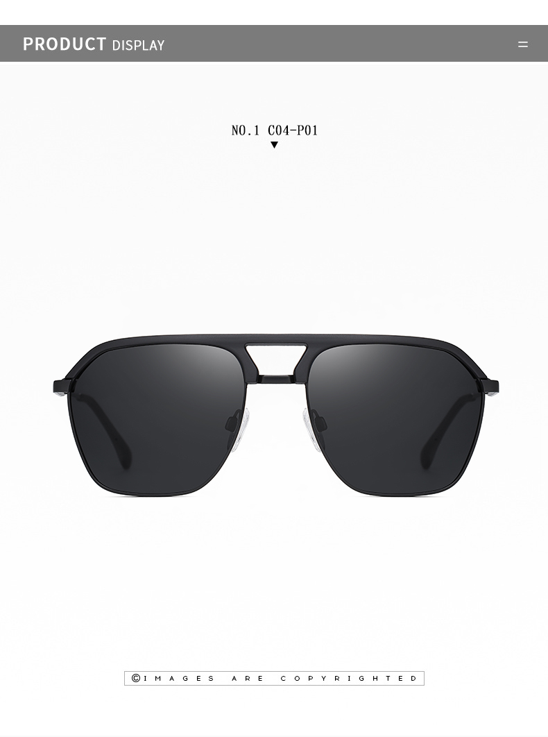 Classic Pilot Polarized Sunglasses Men Coating Mirror Sport Retro Sun Glasses Men Ride Travel Driving Fishing Eyewear Male UV400 (9)