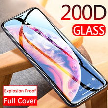 200D Curved Full Cover Protective Glass On The For iPhone 11 11 Pro X XS Max XR Tempered Sc