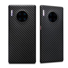 0.7mm Ultra Thin Luxury Carbon Fiber Pattern For Huawei Mate 30 Pro Case Cover Aramid Fiber Case For Huawei Mate30 Mate 30 30Pro