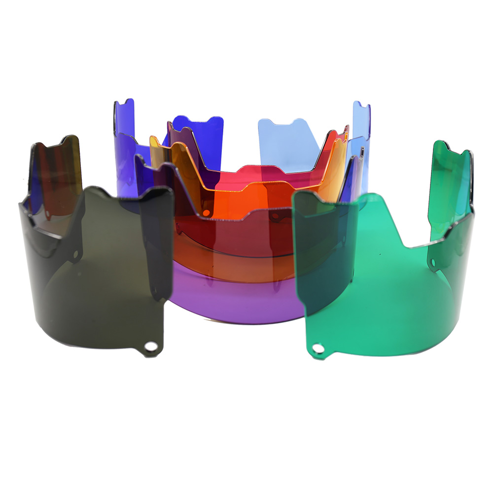 2020 Various Colors American Football Visors Pure Injection Molded Sheet