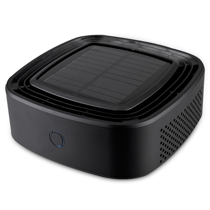 Solar Car Air Purifier Car Oxygen Bar Eliminates Odor Formaldehyde Pm2.5 Smoke Filter Car Air Purifiers     - title=