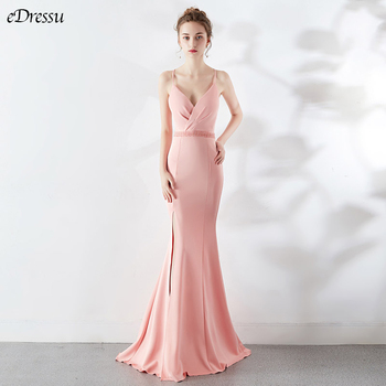 8 Colors Backless Evening Dress Cris-Cross Mermaid Party Dress Elegant Vestido de Fiesta Robe Beading Formal Long Dress YNY-1502