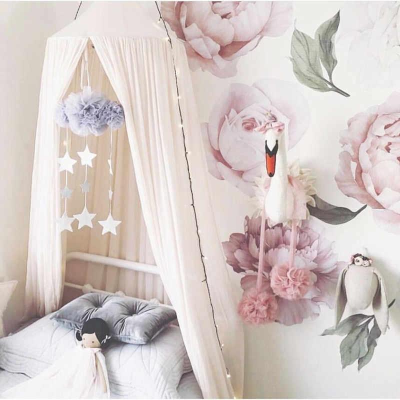 Ins hecho a mano nube nodica caliente bebé recién nacido en la cuna decoración de la habitación del bebé accesorios de fotografía decoración del dormitorio del bebé