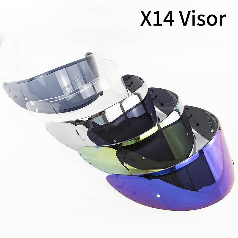 Motorcycle Helmet Visor for X14 Z7 Z-7 CWR-1 RF-1200 Casco Moto Visor Shield Anti-UV Capacete Accessories Parts Cascos Visor Len