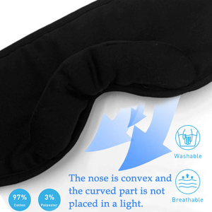 Image 4 - JINSERTA 3D sans fil Bluetooth casque doux sommeil masque pour les yeux stéréo musique casque avec micro Support mains libres pour Smartphone