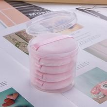 5pcs Foundation Makeup Sponge Pro Cosmetic Puff Beauty Air Cushion Powder Smooth Wet &Dry Dual-Use Makeup Sponge Tool