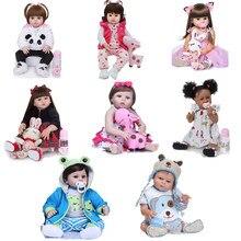 Bebe Reborn Baby Pop Lichaam Siliconen Kan Baden Kinderspeelgoed Vakantie Geschenken Verzonden Uit Brazilië