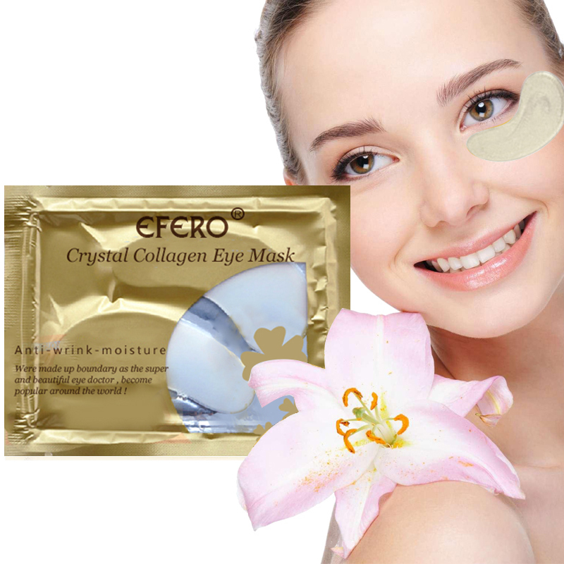 Collagen Crystal Eye Face Mask Gel Eye Patches For Eye Bags Moisturizing AntiAging Wrinkle Dark Circles Eye Pads Skin Care TSLM1