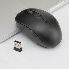 Mini mysz do gier bezprzewodowa mysz 2.4ghz Gamer na PC Laptop Desktop mysz komputerowa myszy z odbiornikiem USB do laptopa compute