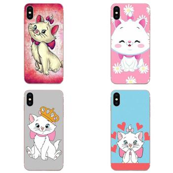 Aristocats Cat Kitty For Huawei Mate 9 10 20 P P8 P9 P10 P20 P30 P40 Lite Pro Smart 2017 Soft Phone Cover Case Coque image