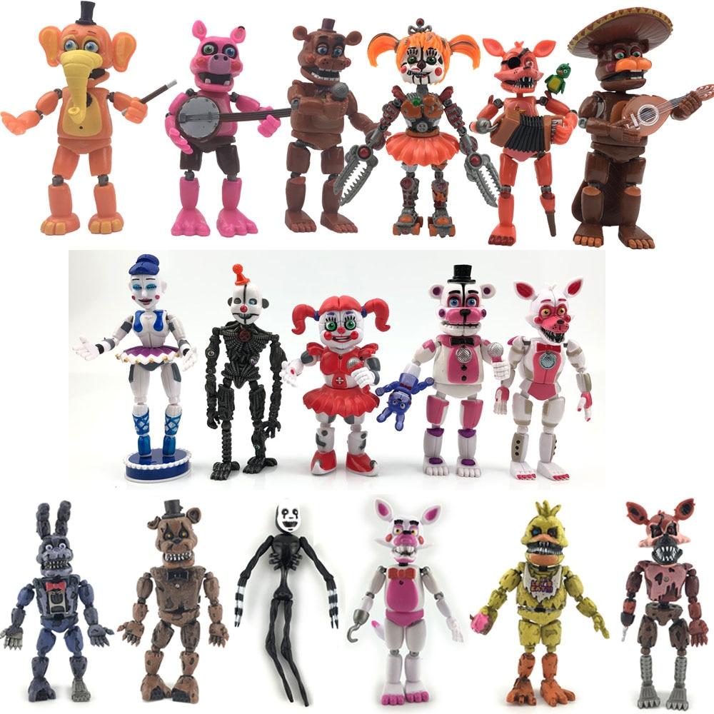FNAF Five Nights at Freddy/'s Action Figur Foxy Freddy Spielzeug Kinder Geschenk