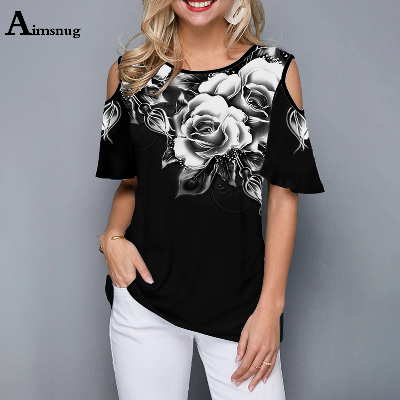 Plus Size 4xl 5xl 2020 Women Female T-Shirt Loose Casual Ladies Tee Shirt New Summer Street Hipster Print Black Tops Half Sleeve