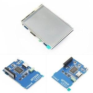 Image 3 - 3.5 pouces LCD HDMI USB écran tactile réel HD 1920x1080 écran LCD Py pour framboise 3 modèle B / Orange Pi (jouer à la vidéo de jeu) MPI3508