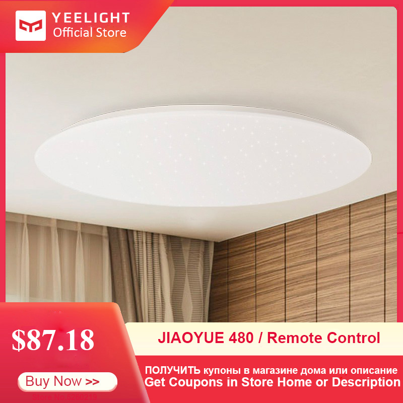 Yeelight JIAOYUE 480 Modern Lamp Smart LED Ceiling Light With Remote Control Plafonnier LED Indoor Lighting Support Mijia APP