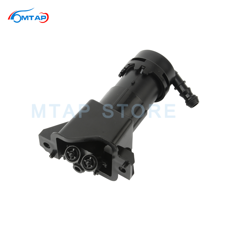 <font><b>Headlamp</b></font> Light Cleaning Spray Actuator For AUDI A6 S6 RS6 /Avant 2009 2010 2011 C6 Head light Nozzle <font><b>Pump</b></font> Cylinder image