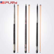 Fury Billiard Pool Cue EA series north American maple shaft Stick Kit Linen Thread wrap billar outstanding handling performance(China)