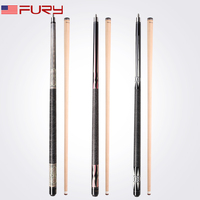 Fury Billiard Pool Cue EA series north American maple shaft Stick Kit Linen Thread wrap billar outstanding handling performance