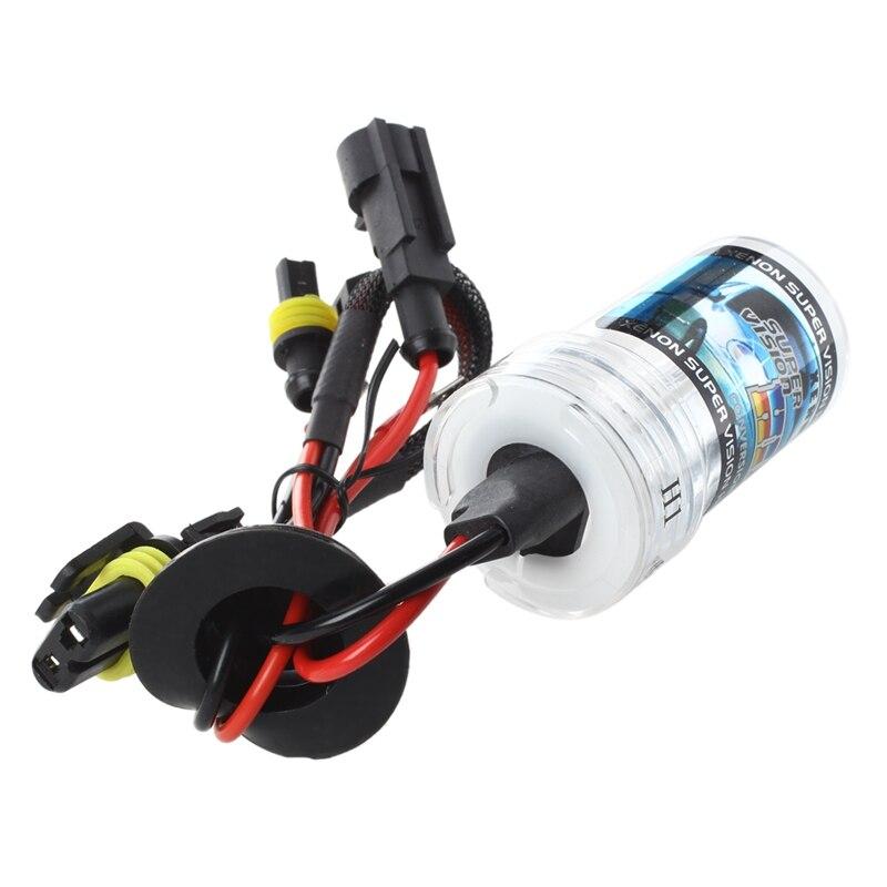 2 X Автомобильный H1 передний светильник, головной светильник, белая ксеноновая HID лампа 35W 6000K