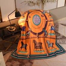 Couverture de luxe rectangulaire en laine, plaid Super chaud et doux pour canapé-lit, voyage, bureau, maison, 150x200cm/200x230cm # sw