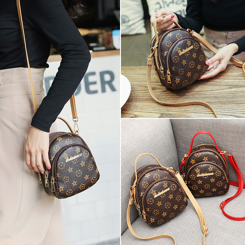 Mobile Phone Bag Women's 2018 New Arrival Hot Selling Fashion Korean-style Versatile Mini Pannier Bag Shoulder Bag Coin Pocket S