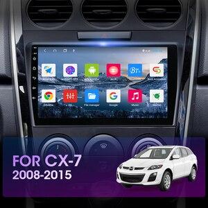 Image 2 - Jmcq Autoradio Android 10 Multimidia Video Speler Voor Mazda CX 7 Cx7 Cx 7 2008 2015 2 Din Drijvende venster Split Screen Speler