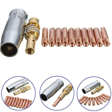 12 X мощность сопла 0,8 мм* M6 контактная труба держатель инертная насадка для MB-15AK сварки