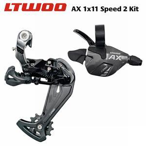 Image 1 - LTWOO gâchette AX 1x11 vitesses, manette de vitesse + dérailleurs arrière, Compatible avec 52T 11 s, Cassette pour vélo vtt, accessoires de bicyclette
