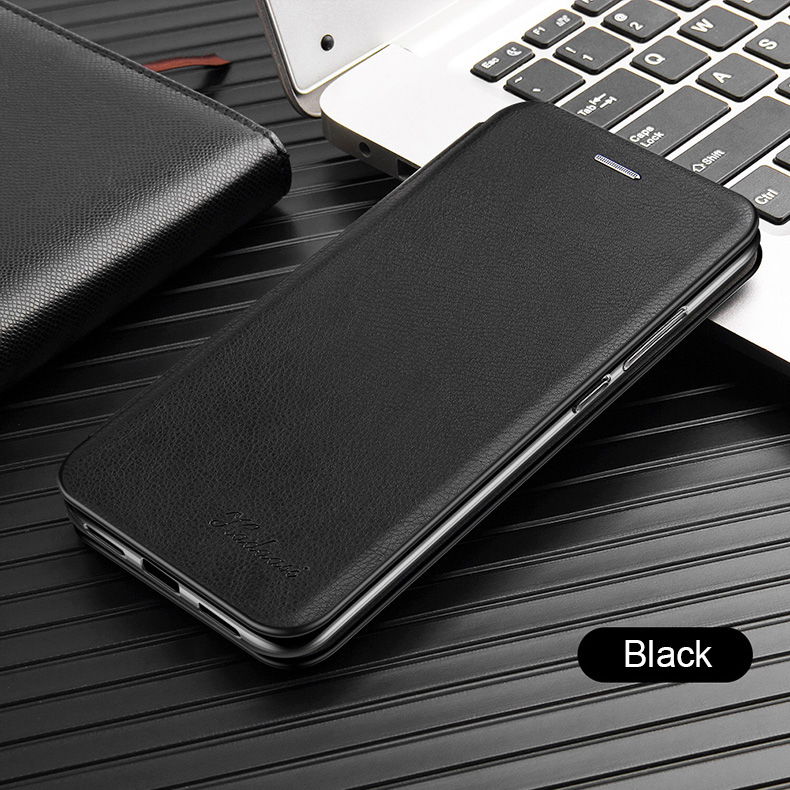 Leather Flip Magnetic Case For Xiaomi Redmi note 8t 8a 9 8 pro 9s 7 7a 5 plus a2 18