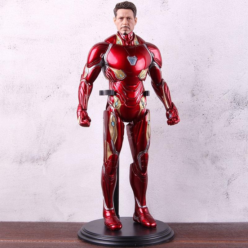 Marvel fer homme Avengers Infinity War MK50 fer homme figurine Marvel Ironman marque 50 Figure PVC collection modèle jouet