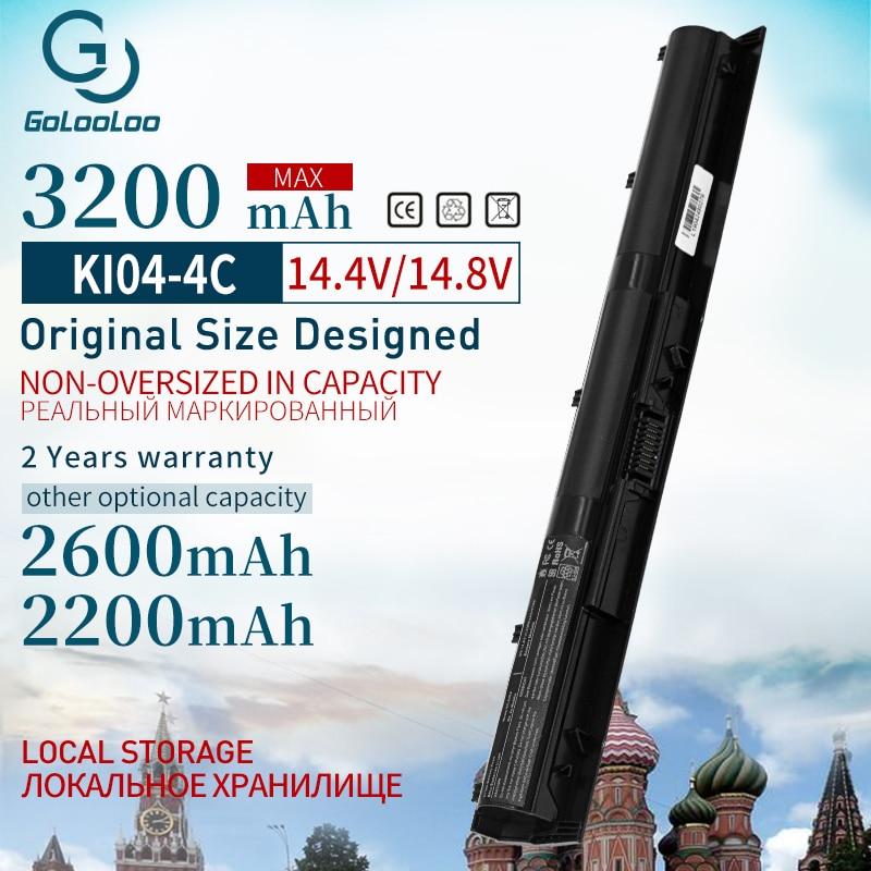 Golooloo K104 KI04 Laptop Battery 800049-001 HSTNN-DB6T HSTNN-LB6S FOR HP N2L84AA TPN-Q158 Star Wars Special Edition 15-an005TX