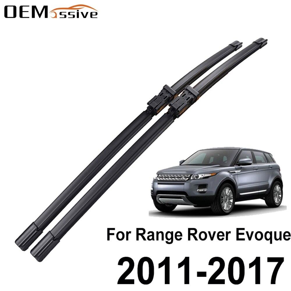 Щетки стеклоочистителя для Land Rover Range Rover Evoque, Нажимные кнопки 2011, 2012, 2013, 2014, 2015, 2016, 2017, 24 дюйма, 21 дюйм