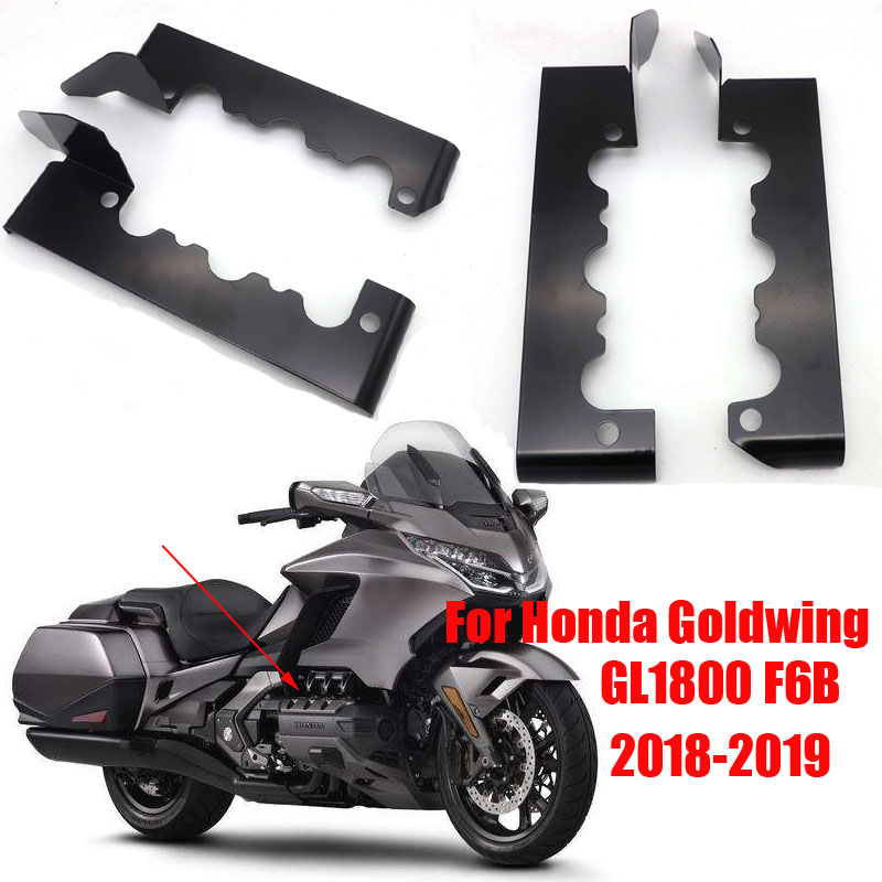Cubierta protectora de motor, culata decorativa, cubierta de borde para Honda Golden Wing GL1800 F6B 2018-2019