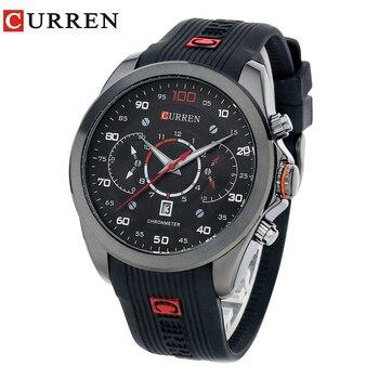 CURREN Mens Watches Top Brand Luxury Men's Sports Quartz Wristwatches Relogio Masculino Men Curren Watches 8166