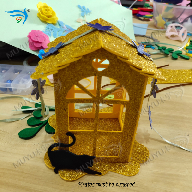 Christmas Lantern House Cutting Template Scrapbook-2019 MZ224