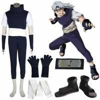 Anime Naruto Yakushi Kabuto Mit schuhe Cosplay Kostüm Halloween
