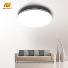 Plafonnier LED ultramince au design moderne, éclairage d'intérieur, luminaire de plafond, montage en surface sur panneau, idéal pour une chambre à coucher ou une cuisine, 6/9/18/24/36/48 W, 85/265V