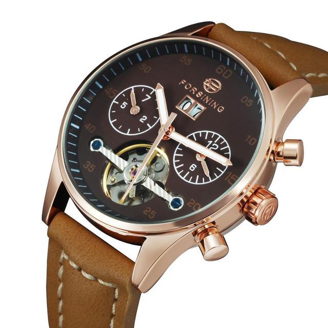 גבירותיי שעונים 2020 מקרית אוטומטי מכאני שעון יד לנשים חדש Tourbillon שעון מתנת רצועת עור לוח השנה relogio