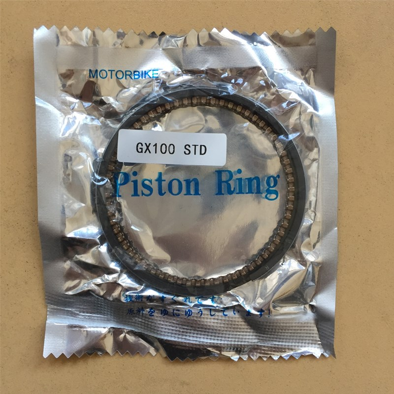 56MM PISTON RING SET STD FOR HONDA GX100 98CC 2.8HP ENGINE CYLINDER RAMMER KOLBEN KIT RINGS TAMPER JUMPING JACK # 13010-Z0D-003